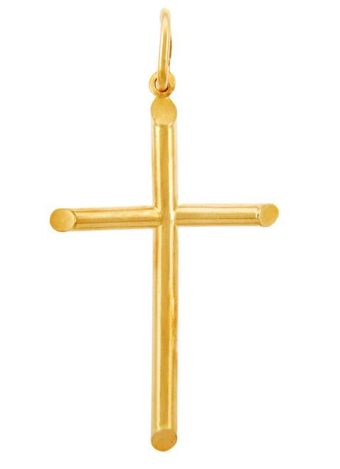 Gold Crosses - Small Gold Cross Pendant