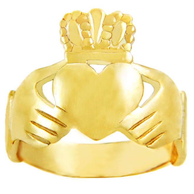 Gold Claddagh Classic 14K Ring