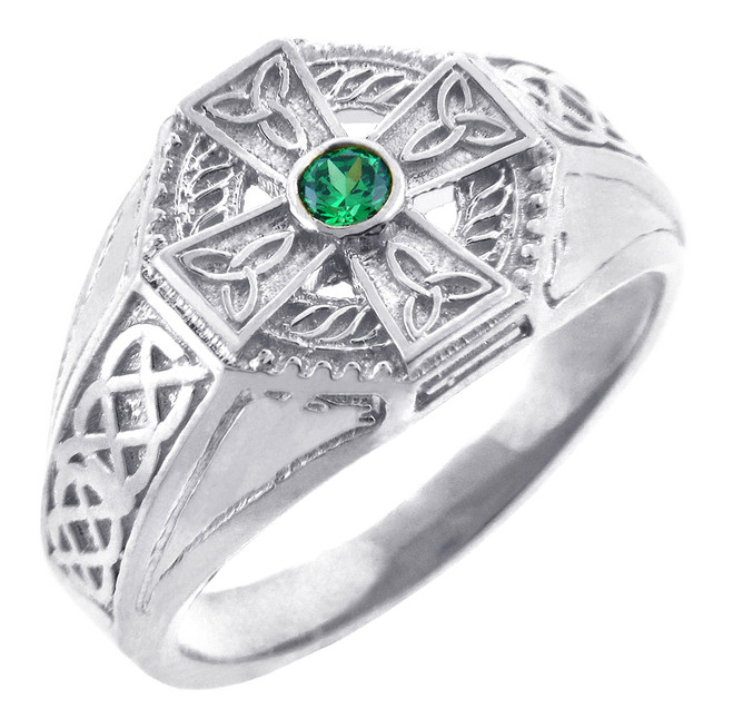 Completely new Celtic and Claddagh Jewelry - Celtic Rings - Men's Celtic Rings  SL89
