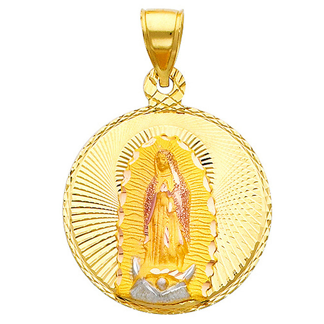 "Classic ""Our Lady of Guadalupe"" Pendant- 1.00 Inch"