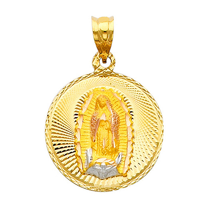 "Classic ""Our Lady of Guadalupe"" Pendant- 0.75 Inch"