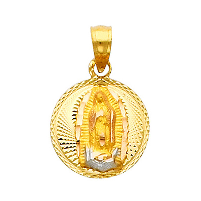 "Classic ""Our Lady of Guadalupe"" Pendant- 0.50 Inch"