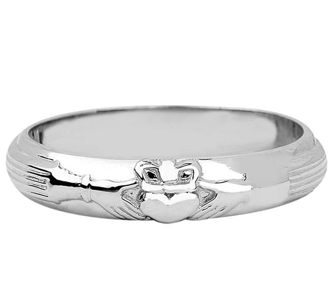 Silver Wedding Claddagh Ring