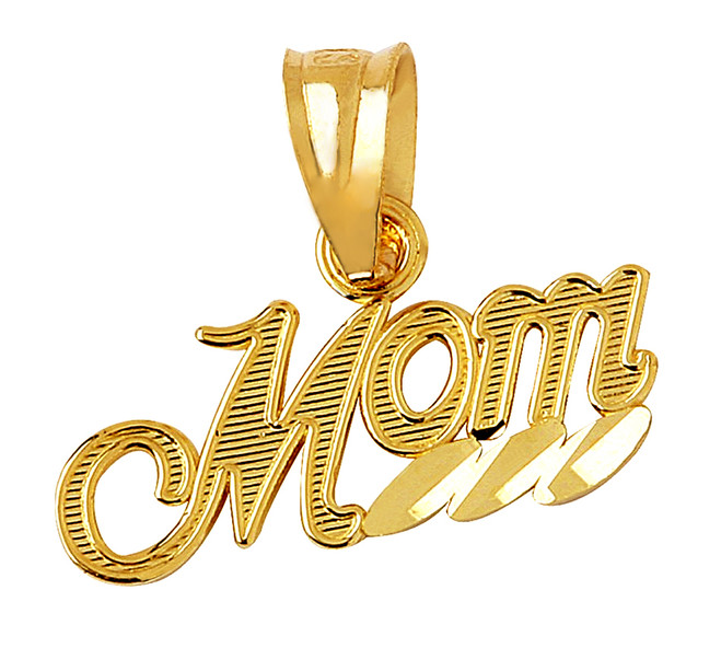 Mom Gold Pendant