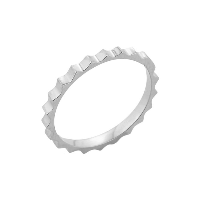 Sterling Silver Spiked Toe Ring