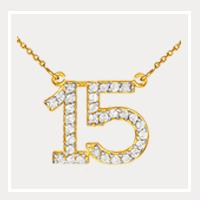 15 Anos Quinceanera Jewelry