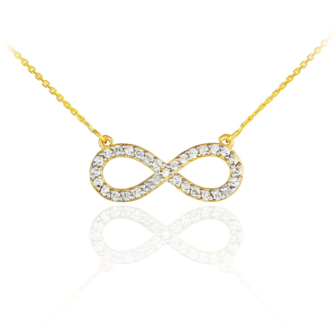 rose hover necklace mv zoom gold zm to kaystore en kay infinity
