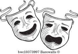 Image result for comedy and tragedy masks