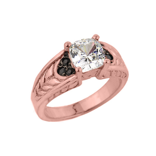 ring for wedding engagement ring cz engagement ring white gold cz 7097