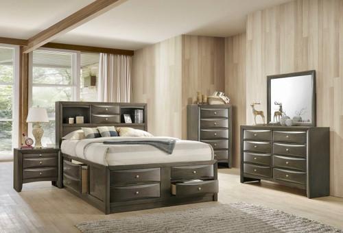 Emily Gray Storage Bedroom