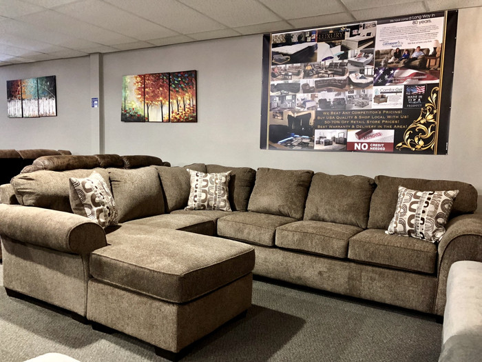 Vibrant Cocoa 3 Piece Sectional Set
