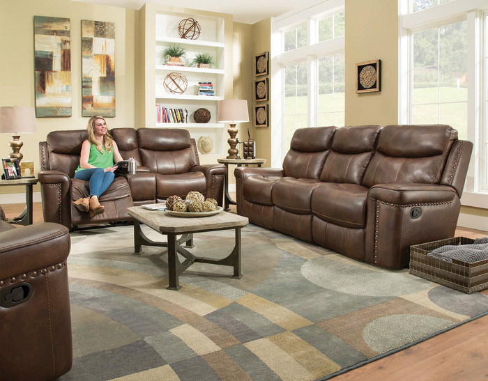 Driftwood Italian Leather Reclining Collection
