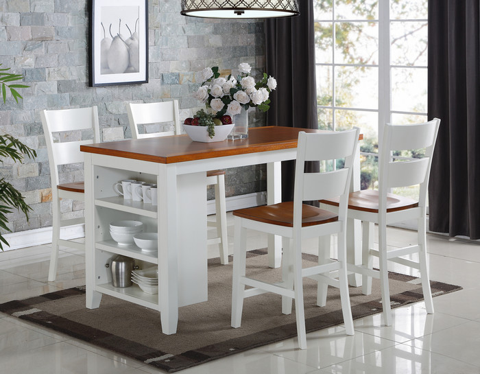Spice & Buttermilk 5 Piece Pub Dining Set