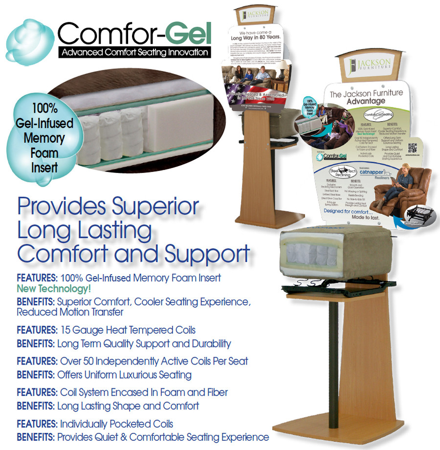 Grant Steel Luxury Comfort Gel Collection