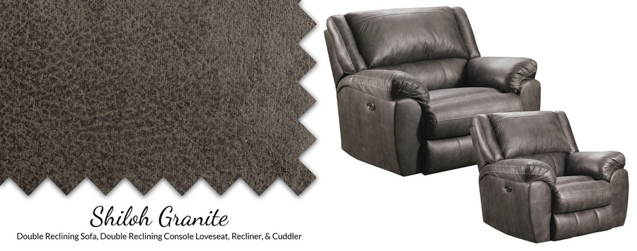 Granite Grey Beautyrest Reclining Collection