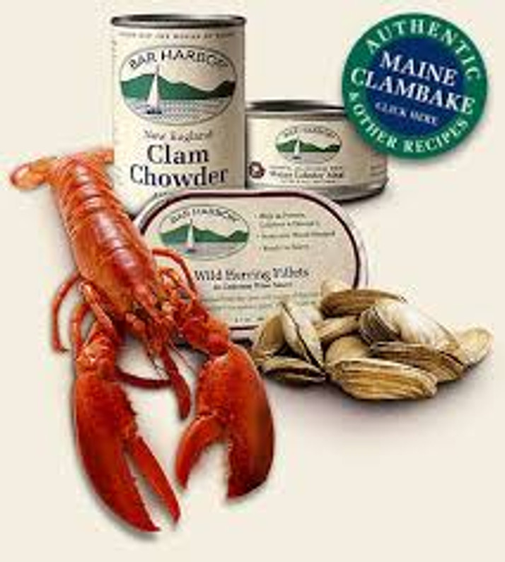 New Fancy Seafood Line, Bar Harbor
