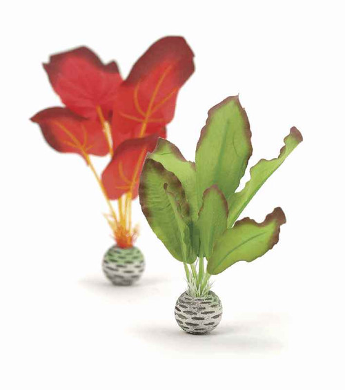 biOrb Silk Plant Set S Green & Red