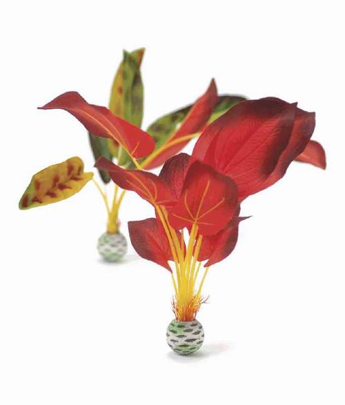 biOrb Silk Plant Set L Green & Red