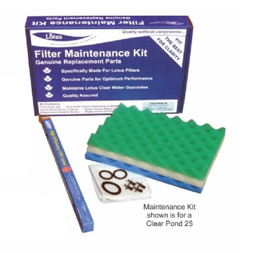 Lotus Clear Pond 18 Filter Service Kit