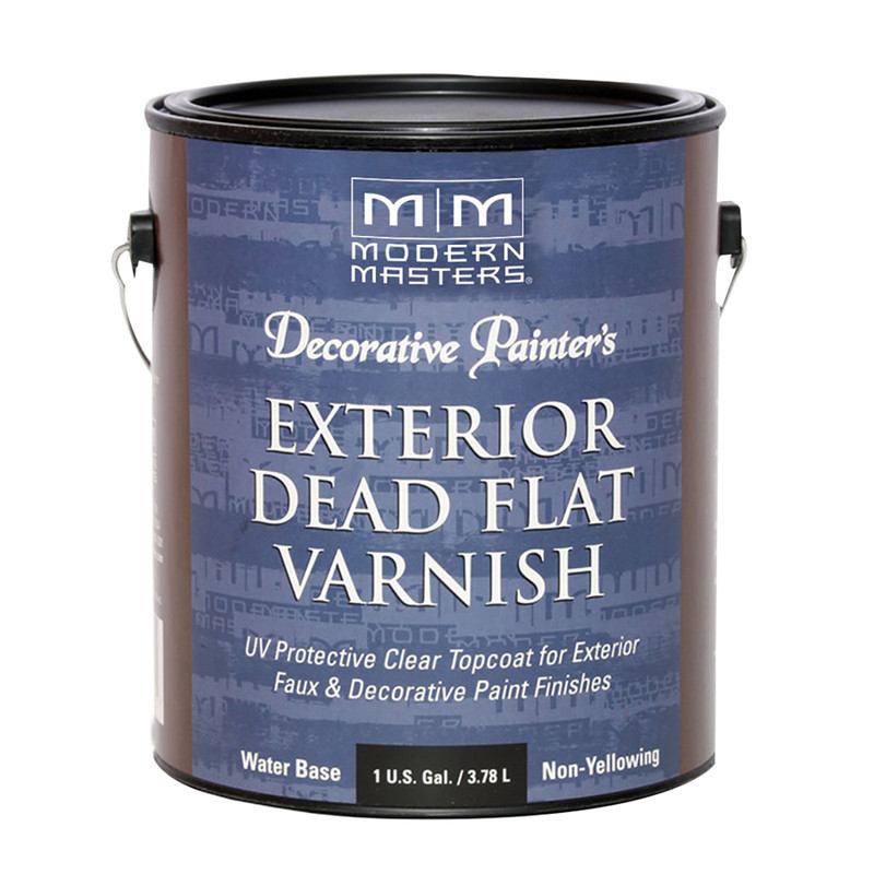 Modern Masters Exterior Dead Flat Varnish