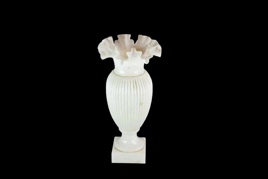 Marble Accents Marble Vases Frilled Paragon Natural Marble Vase