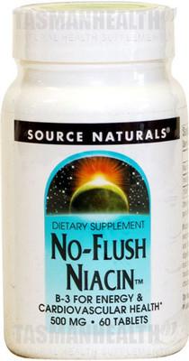 Source Naturals No Flush Niacin 500mg