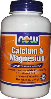 NOW Foods Calcium Magnesium Powder
