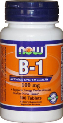 NOW Foods Vitamin B-1