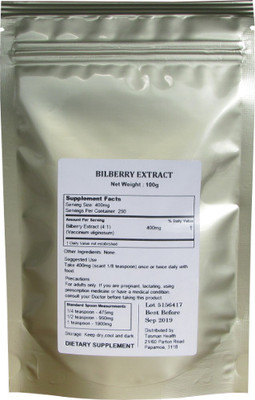 Bilberry Extract Powder