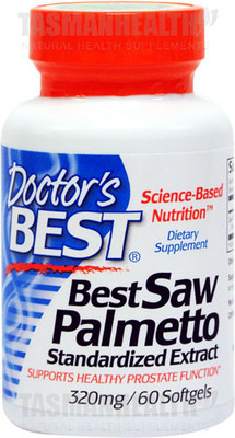 Doctor's Best Saw Palmetto 320mg