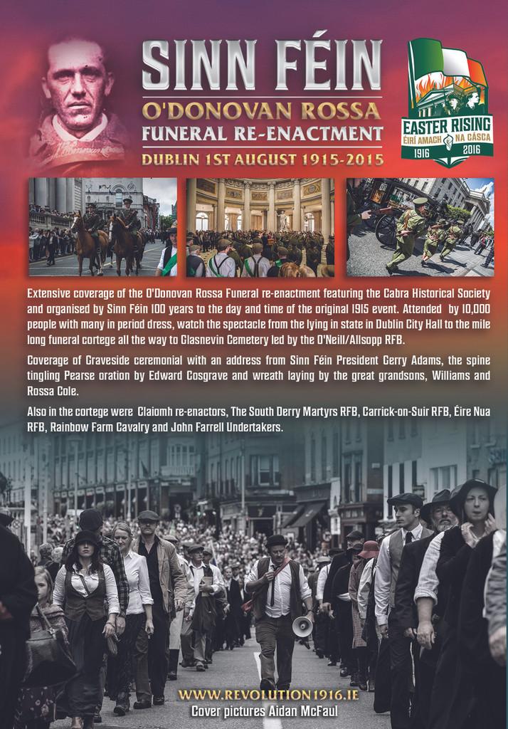 O'Donovan Rossa Funeral Re-enactment DVD