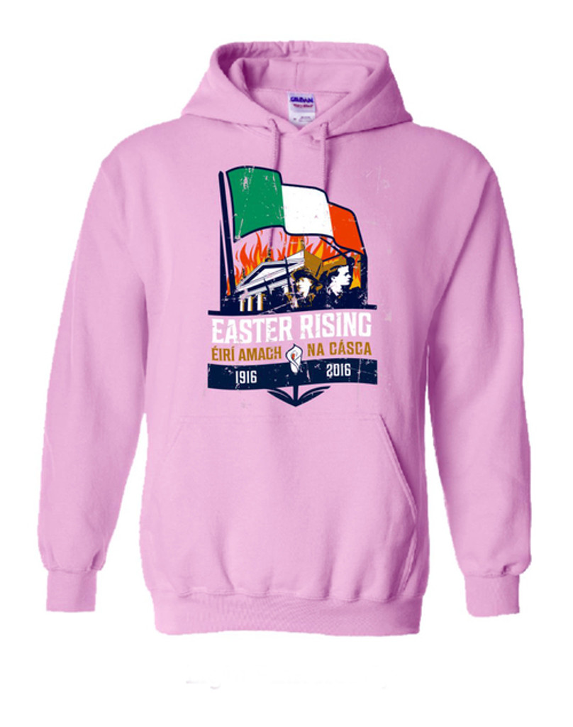 REVOLUTION 1916 LIGHT PINK HOODIE TOP