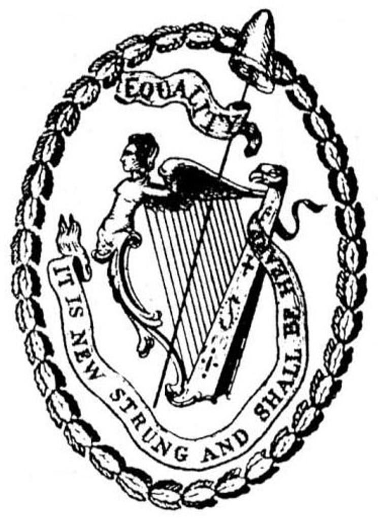 Society of United Irishmen Badge