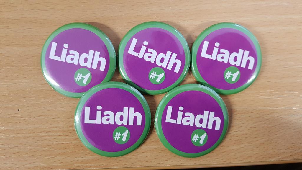 Liadh # 1 Button Badge