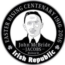 John MacBride 916 Centenary Badge