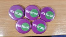 New Ireland Button Badge