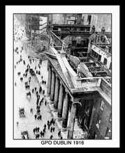 The GPO Dublin 1916 Framed Picture