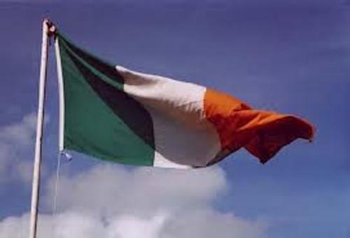 irish flag handmade sinn féin bookshop