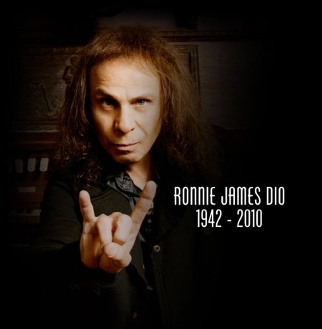 RIP RONNIE JAMES DIO - ON YOUR 75th