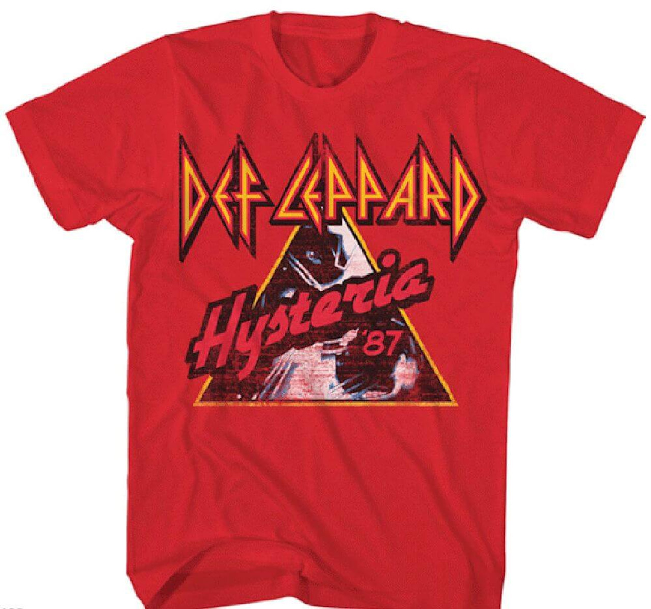Def Leppard Hysteria 1987 Vintage Concert Tour T Shirt