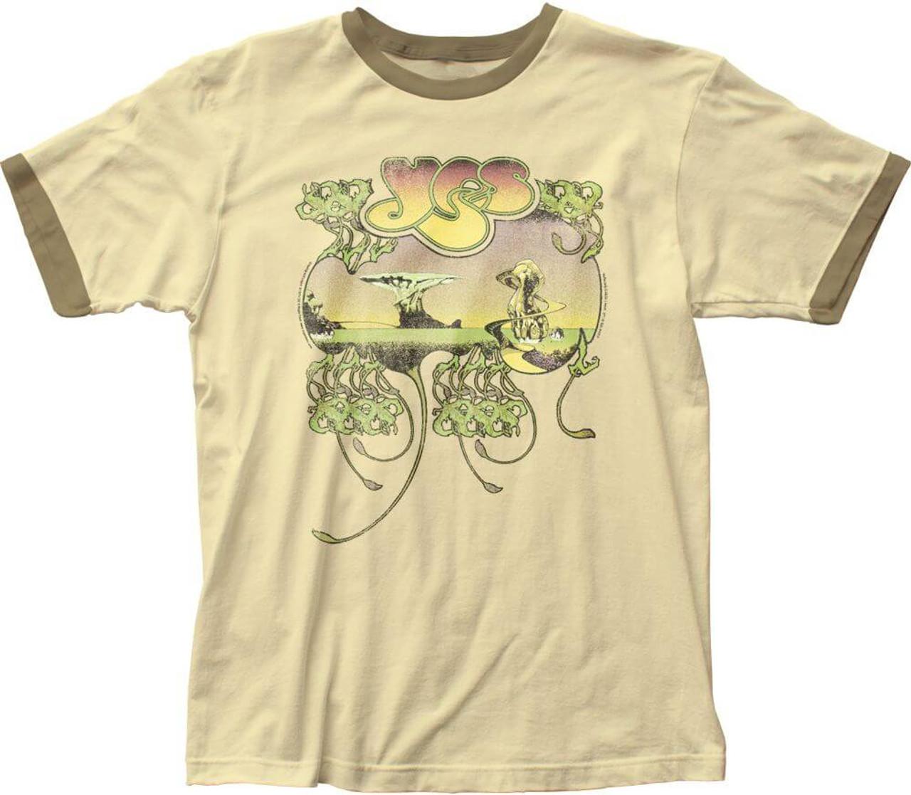 Amazon.com: YES - FRAGILE Album Cover - Adult T-Shirt: Clothing