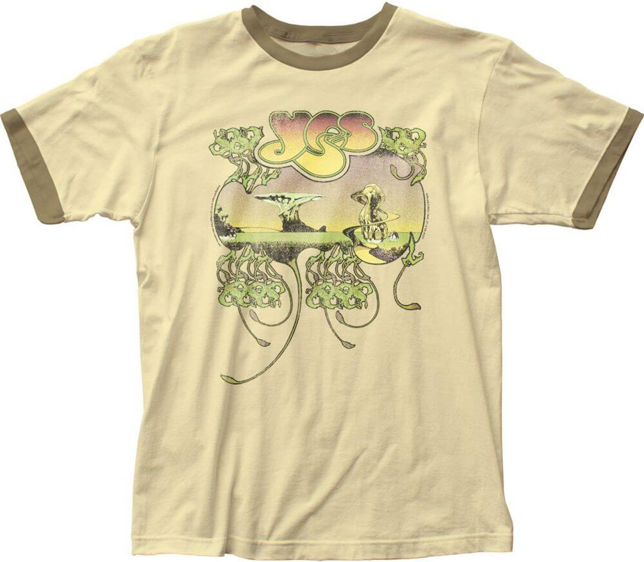 Amazon.com: YES - FRAGILE Album Cover - Adult T-Shirt: Clothing
