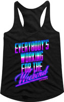 Loverboy Women's Black Racerback Tank Top T-shirt
