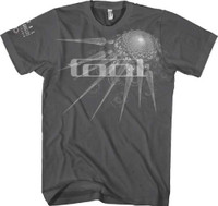 Tool Specter Spikes Logo Men's Gray Fitted T-shirt