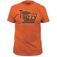 Thin Lizzy 1979 US Concert Tour Men's Vintage Orange T-shirt