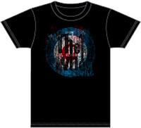 The Who Target Logo Men's Black Vintage T-shirt