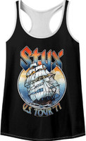 Styx US Tour 1977 Women's Tank Top Concert T-shirt