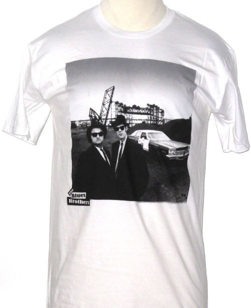 Blues Brothers Movie Film Poster Artwork Men's White T-shirt.