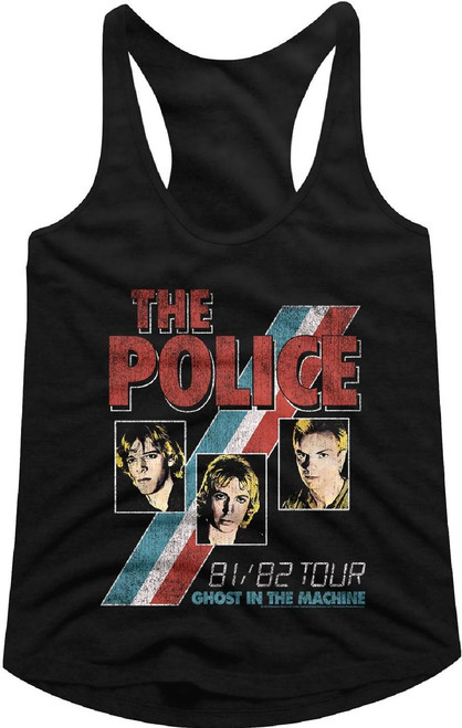 Police Ghost in the Machine Tour Tank Top T-shirt