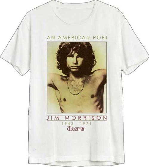 The Doors Men's White T-shirt